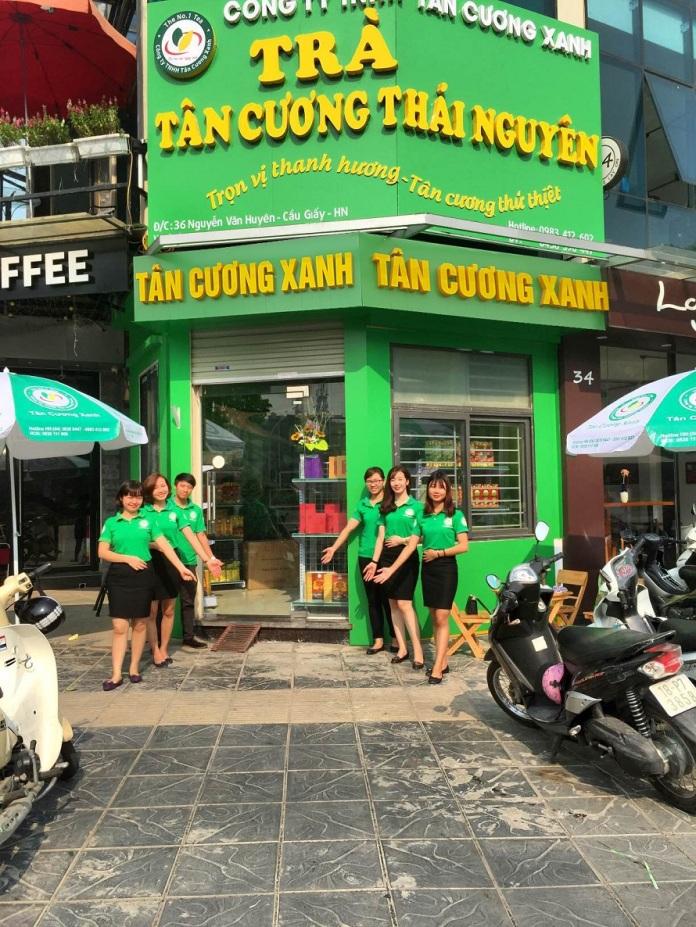 che thai nguyen ngon - c.ty Tan Cuong Xanh 1